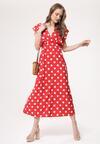Czerwona Sukienka Rains