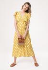 Żółta Sukienka Rains