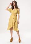 Żółta Sukienka Meteor
