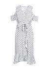 Biała Sukienka Meteor
