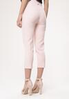 Jasnoróżowe Spodnie Graceful