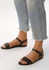 Czarne Sandały Mizzly