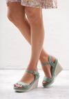 Zielone Sandały Disingenuous