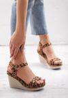 Panterkowe Sandały Disingenuous