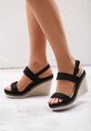 Czarne Sandały Lowercase