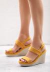Żółte Sandały Lowercase