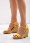 Żółte Sandały Undetermined