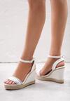Białe Sandały Firn