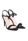 Czarne Sandały Fleabite