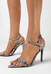 Brązowe Sandały Dangerous Woman