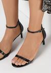 Czarne Sandały Pavement