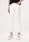 Białe Jeansy Skimpy