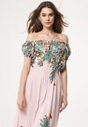 Jasnoróżowa Sukienka Contextualize