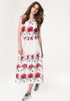 Biała Sukienka Reeducate