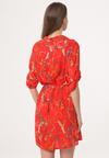 Czerwona Sukienka Overstate