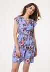 Niebieska Sukienka Tiger Lily
