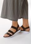 Czarne Sandały Subatom