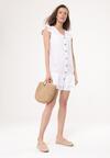 Biała Sukienka Four Seasons