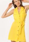 Żółta Sukienka Arkose