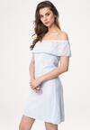 Jasnoniebieska Sukienka Gravel
