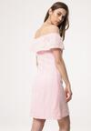 Jasnoróżowa Sukienka Gravel