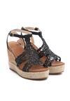 Czarne Sandały Sweet Lace