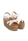 Białe Sandały Polybromide