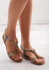 Niebieskie Sandały Dinitrogen