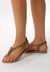 Zielone Sandały Covalence