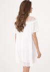 Biała Sukienka Rely On Me