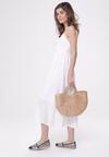 Biała Sukienka Homoatomic