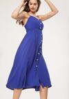 Ciemnoniebieska Sukienka Homoatomic