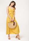 Żółta Sukienka Monoarsenide