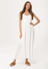 Biała Sukienka Monoarsenide