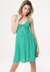 Zielona Sukienka Fermion