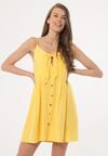 Żółta Sukienka Fermion