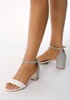 Białe Sandały Frenetic