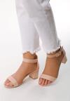 Różowe Sandały Ware