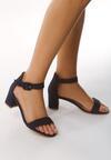 Granatowe Sandały Ware