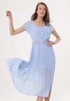 Niebieska Sukienka Nucleon