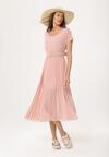 Różowa Sukienka Nucleon