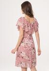 Różowa Sukienka Isotope