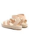 Beżowe Sandały Themed