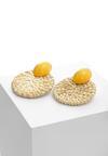 Żółte Kolczyki Demesne