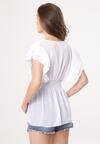 Biała Bluzka Habits