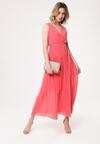 Koralowa Sukienka Neoclassicism