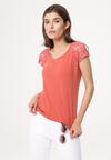 Pomarańczowa Bluzka Longueur