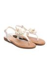 Białe Sandały Rasina