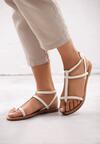 Białe Sandały Laborious