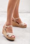 Beżowe Sandały Marketeer